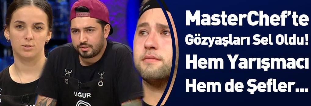 MasterChef Türkiye'den Elenen Yarışmacı Gözyaşlarına Hakim Olamadı