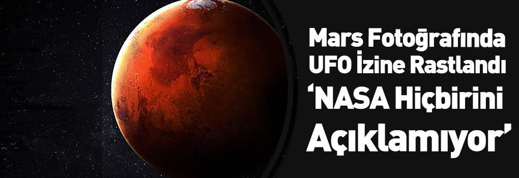 NASA'nın Fotoğraflarında Uzaylı Yapılarını Buldular!