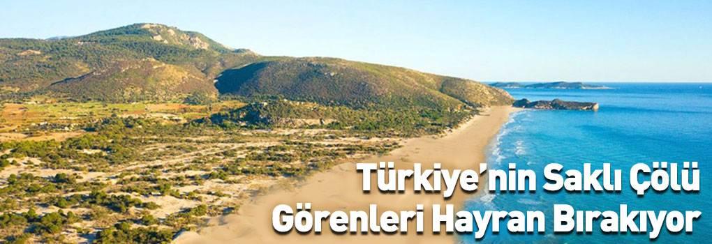 Türkiye'nin Saklı Çölü: Patara Kum Tepeleri