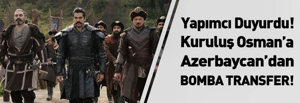 Zabit Samedov, Kuruluş Osman Dizisine Transfer Oldu