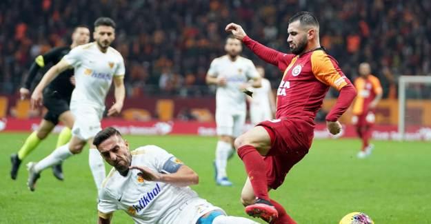 Galatasaray - Kayserispor Maçı Muhtemel 11'ler