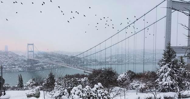 İstanbul'a Kar Geliyor! Valilik Açıklama Yaptı
