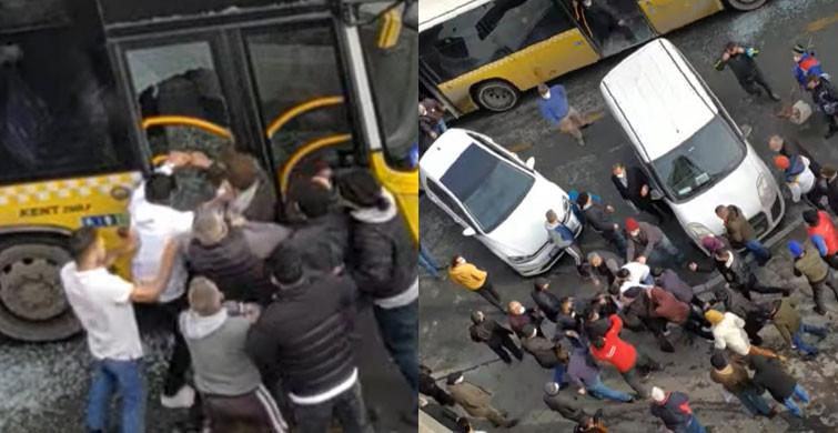 İstanbul'da Otobüs Şoförü Darp Edildi