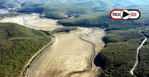 İstanbul'un Su Kaynağı Olan Trakya'daki Barajlar Kurudu