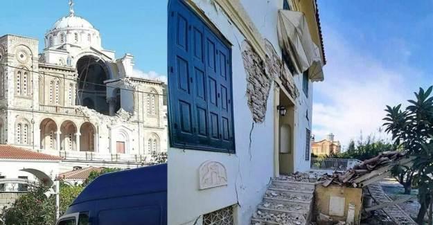 İzmir'deki Deprem Yunanistan'da da Etkili Oldu