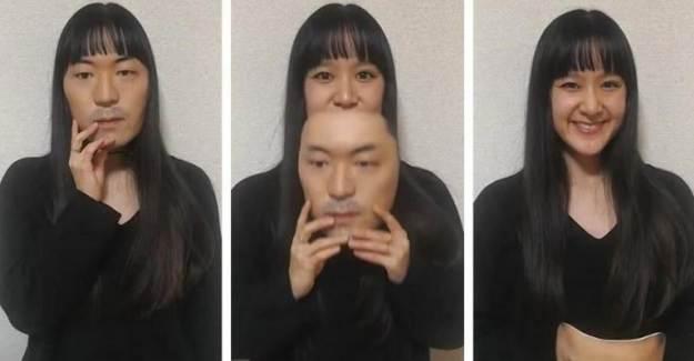 Japonlar Gerçek Kişilerin Yüzlerinden Ultra Gerçekçi 3D Maske Yaptı