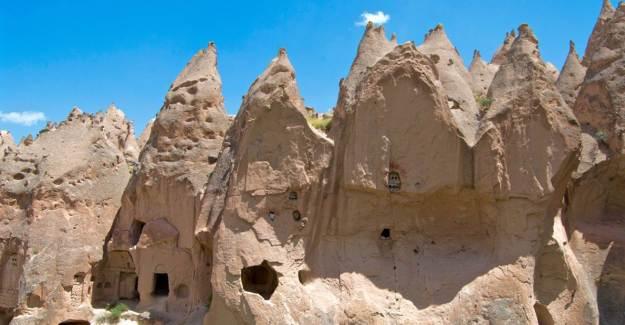 Kapadokya Ihlara Vadisi Doğallığı ile Görenleri Büyüledi