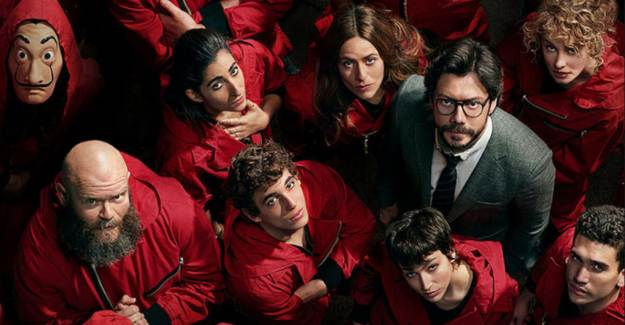 La Casa de Papel'e Türk Oyuncu Damga Vuracak!