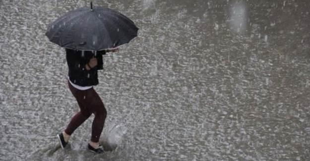 Meteoroloji 57 İle Yağış Uyarısı Yaptı
