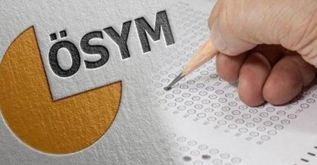 ÖSYM'den Sınav Erteleme Duyurusu