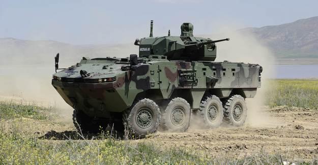 Otokar Arma 8x8 Afrika'dan İlk Siparişini Aldı