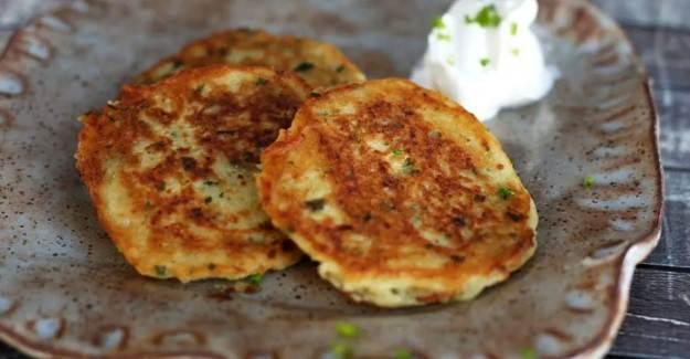 Patatesli Pankek Nasıl Yapılır? Patatesli Pankek Tarifi