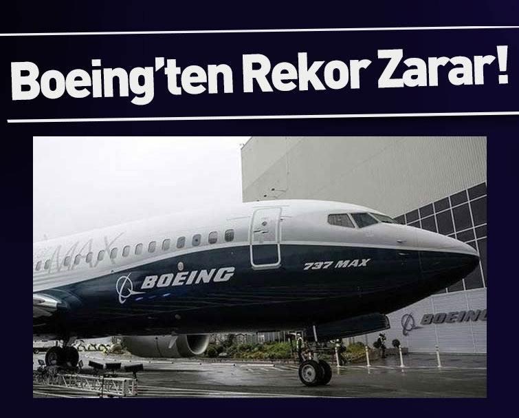 Rekor Zarar Boeing'den