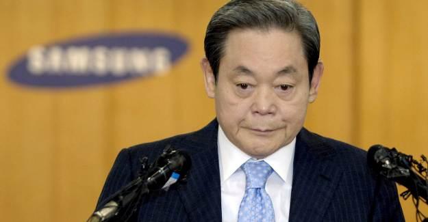 Samsung Başkanı Lee Kun-Hee Hayatını Kaybetti