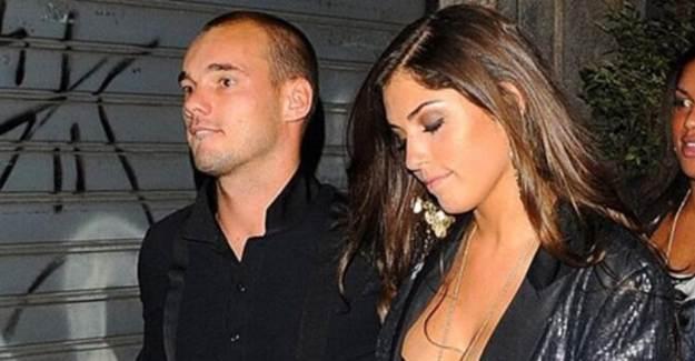 Sneijder Aşk Acısı Çekiyor