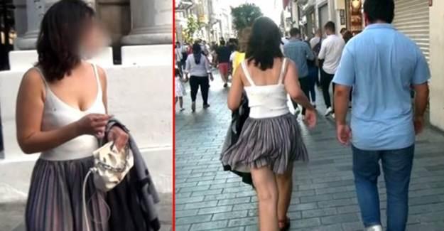 Taksim'de Kadını Takip Eden Sapık Hakim Karşısına Çıktı