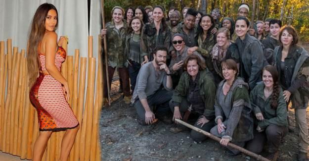 The Walking Dead, Paylaşımıyla Kim Kardashian ile Dalga Geçti