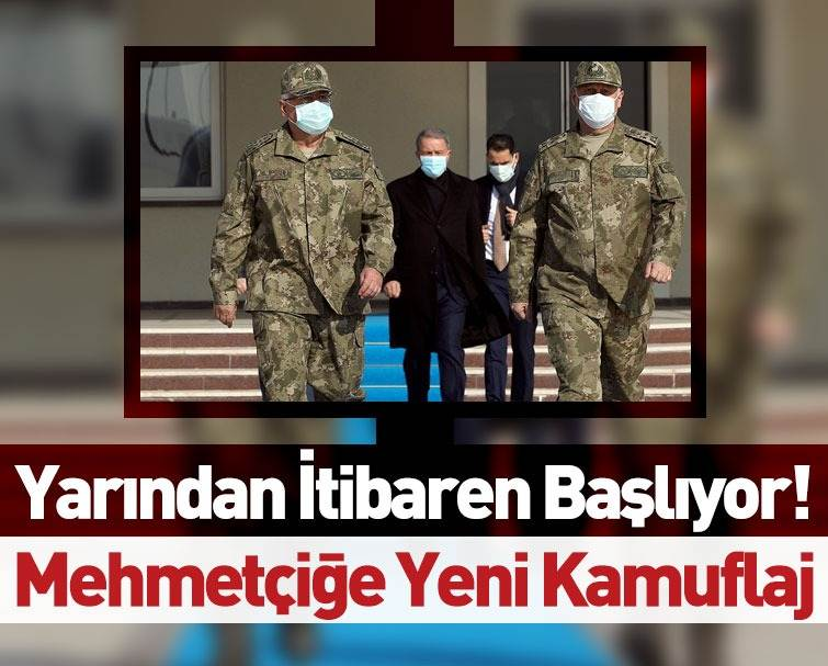 Türk Askeri İçin Yeni Kamuflaj Hazırlandı