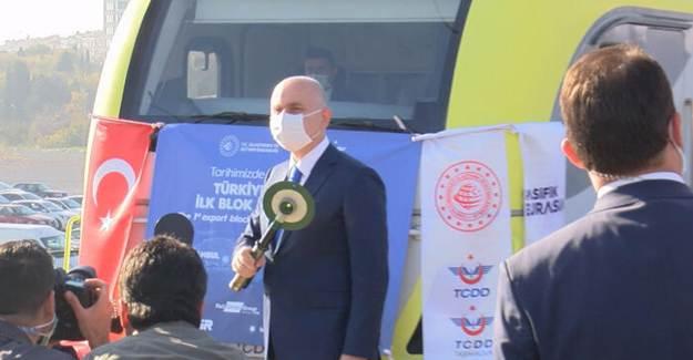 Türkiye'den Çin'e İlk İhracat Seferi