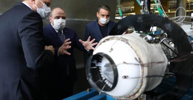 Yerli Füzelerde Kullanılacak Milli Turbojet Motoru Test Edildi