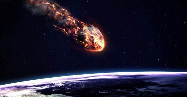 Yolunu Değiştiren Göktaşı Dünya'ya Yaklaşıyor