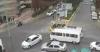 Halk Otobüsü Şöförü Ambulansı Görünce Trafiği Durdurdu