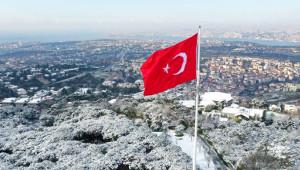 Hafta Sonunda İstanbul'da Yoğun Kar Yağışı