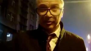 Ukraynalı Bakan Yardımcısının Polisle Kavga Anları