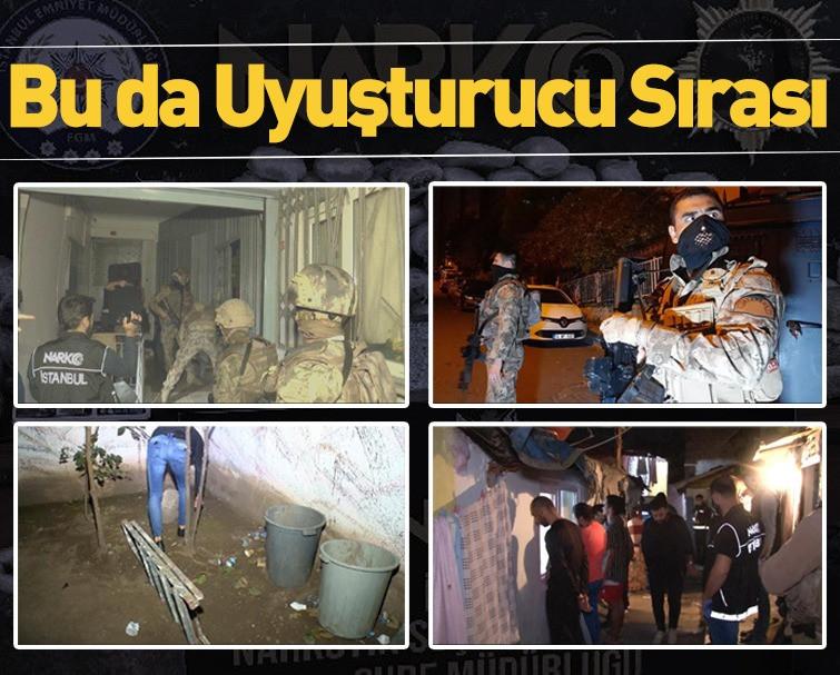 Beyoğlu'nda Uyuşturucu Almak İçin Sıraya Girdiler!