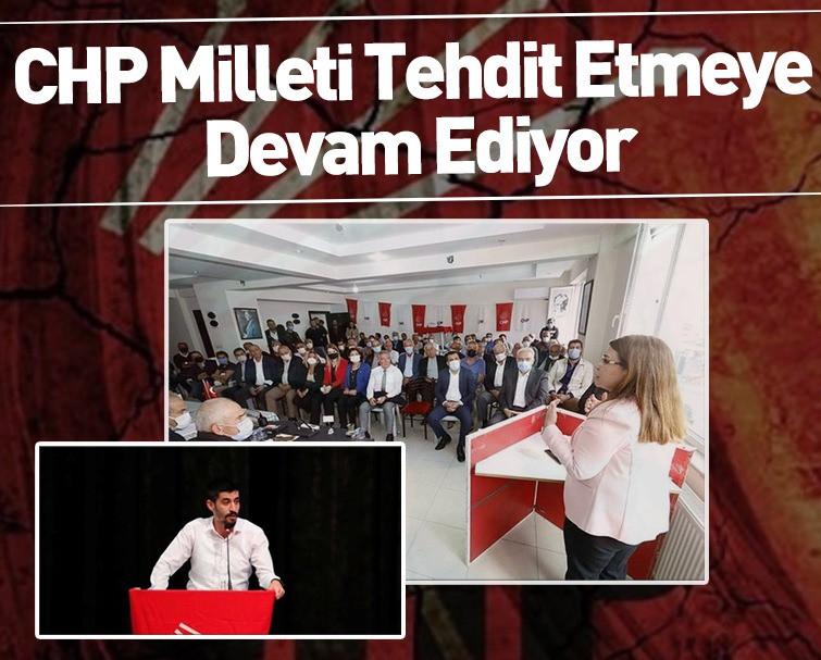 CHP Tehdit Etmeye Devam Ediyor!