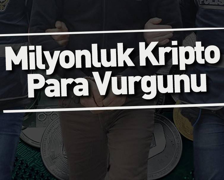 Kripto Para Dolandırıcılığından 18 Kişi Gözaltına Alındı, 2 Kişi Tutuklandı